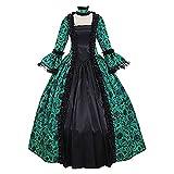 Visky Disfraces de Halloween para mujer, vestido de princesa, vestido de fiesta de boda, vestido de invitados gótico, encaje floral, vestidos medievales