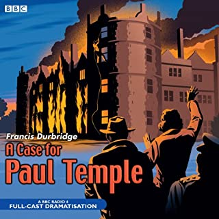 A Case for Paul Temple cover art