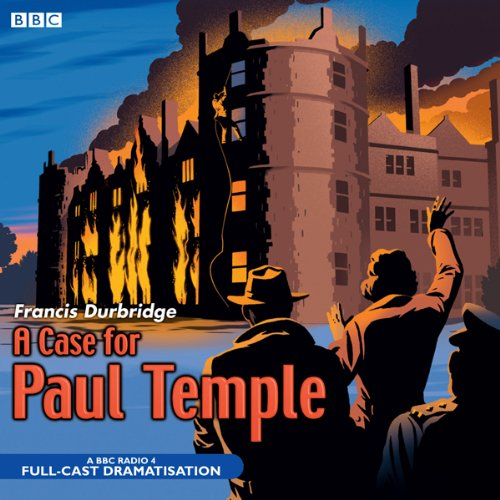 A Case for Paul Temple audiobook cover art