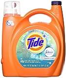 Tide Plus febreze Freshness, Botanical rain, he Turbo Clean Liquid Laundry Detergent, 138 oz, 1 Count