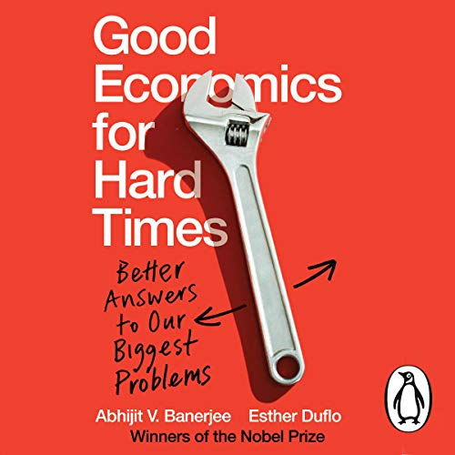 『Good Economics for Hard Times』のカバーアート