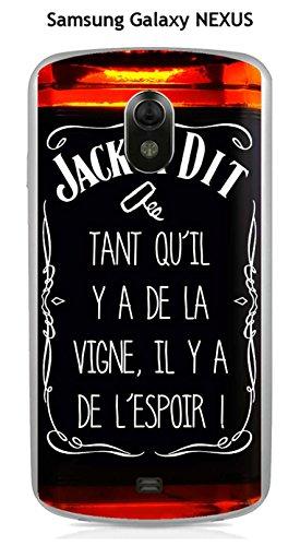 Onozo Carcasa Samsung Nexus Design Jack a dit La Viña