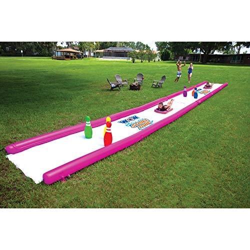 Wow Watersports Strike Zone 19-2010, Giant 25 Foot Water Slide with Inflatable Pins and Sleds