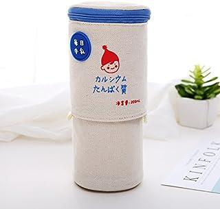 JWBT Lienzo telescópico creativo para macho y hembra cero multifunción bolso gran capacidad de leche simple