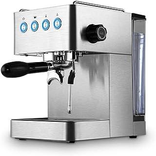 ماكينة اسبريسو JRZTC | 15 لوح | كابتشينو | رغوة حليب | مطابخ حديثة | فوهة بخار لحليب المزج وإعداد المشروبات الساخنة