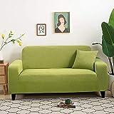 L.TSA Fundas Gruesas para sofá, Protector de sofá, Tejido Grueso para Sala de Estar, Fundas en Forma de L, Protector de sillón, 4_145-185cm, Protector de sofá Acolchado para Mascotas
