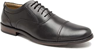 NOBLE CURVE Leather Formal Oxford Shoes