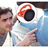 Lvcky Lot DE 25.5cm carrosserie de Voiture dent Ventouse Auto Body dent Extracteur Outil de démontage (Orange)