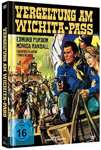 Vergeltung am Wichita-Pass - Mediabook A - BD & DVD [Blu-ray]