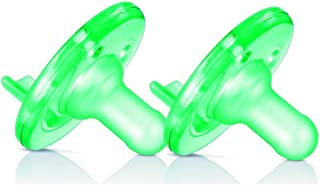 Philips AVENT BPA Free 0-3 Months 2 Pack Vanilla Scented Soothie Pacifier - Green 2PC