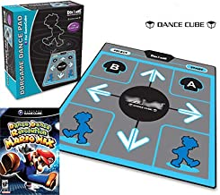 DDR Regular DanceCube Dance Pad for GameCube with DDR Game Mario Mix for Nintendo GameCube