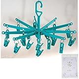 Viva-Haushaltswaren Kleine Wäschespinne / Wäschetrockner für Socken, Dessous, etc. ca. Ø 39cm x H 29 cm (Farbe je nach Verfügbarkeit) inkl. Dufttüte