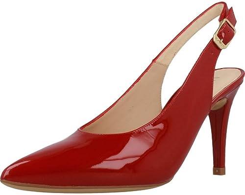 Zapatos de tacón, Color rojo, Marca UNISA, Modelo zapatos De Tacón UNISA TREBOL PA rojo
