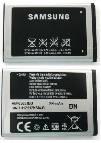 Samsung AB463651BU Akku für Samsung S3650 Genio Touch / S5620 Monte / B5310 Genio Slide / S5600 Preston / Blade, 960 mAh