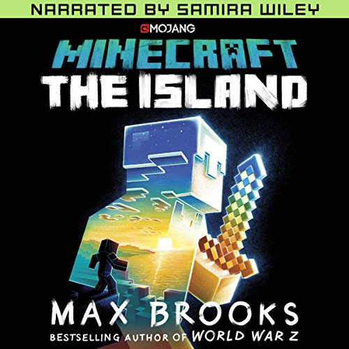 Minecraft: The Island (Narrated by Samira Wiley) audiobook cover art