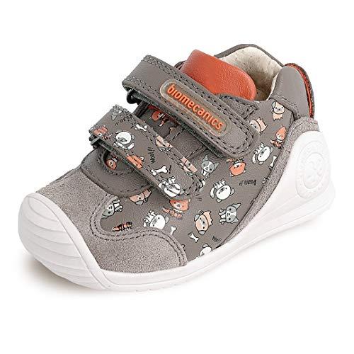 Biomecanics Chaussures de sport pour enfant Motif chiens - Gris - Gris Estampado Perros, 21 EU EU