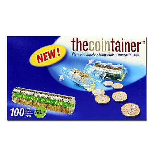 effektivo 10341plástico casquillos de monedas