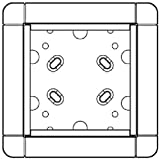 Ritto 4972450 - Marco para interruptores de luz