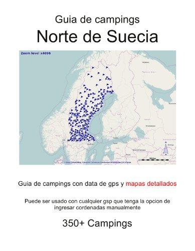 Guia de campings en NORTE DE SUECIA (con data de gps y mapas detallados)