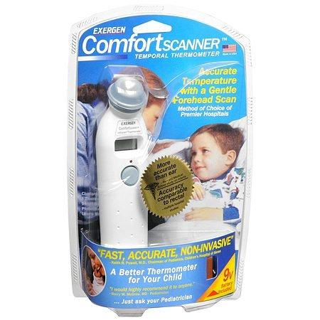 exergen comodidad escáner termómetro–2pc