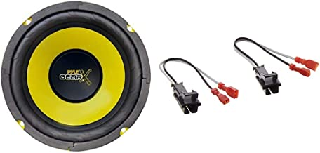 $28 » Pyle 6.5 Inch Mid Bass Woofer Sound Speaker System - Pro Loud Range Audio 300 Watt Peak Power & Metra 72-4568 Speaker Harn...