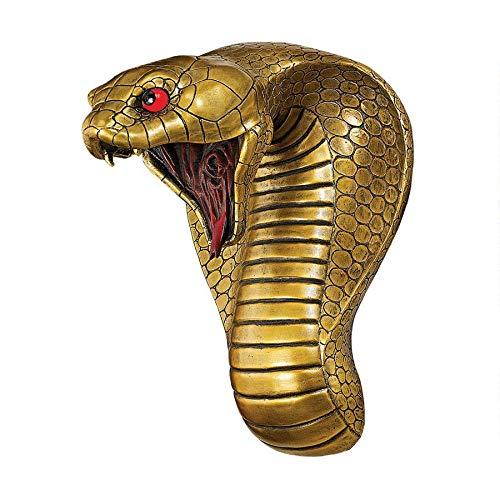 Design Toscano Ägyptische Kobragöttin, Wandfigur