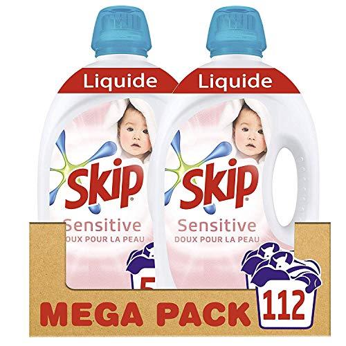 Skip Lessive Liquide Sensitive Doux pour...