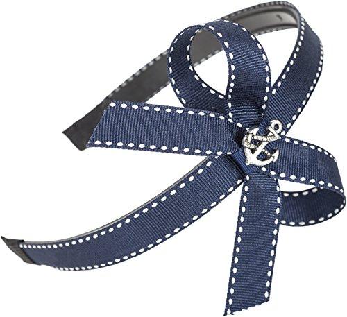 Killer Kirsche Vintage Sailor Embry Anchor Anker Bow Pin Up Haarreif Rockabilly