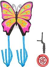 CLISPEED 1 Set Butterflies Kite Large Single Line Kite Animal Kite Easy Flyer Kite for Kids Adults Garden Outdoor Games Be...