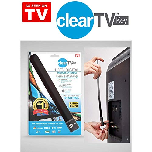 US Clear TV Key HDTV Free TV Digital Indoor...