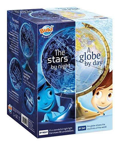 BUKI 7341UK - Tag und Nacht Globus (Englische VERSION)