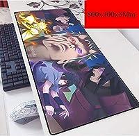 ゲーミングマウスマットラージマウスマットマウスパッドゲーマーゲーミングキーボードコンピュータアニメタブレットデスクトップクッションラップトップ (Color : F)