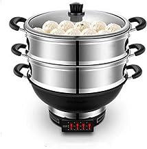 Pot Chauffant Électrique Wok Électrique Wok Électrique Cuisinière Électrique Intégrée Multifonction Domestique Pot Chaud É...