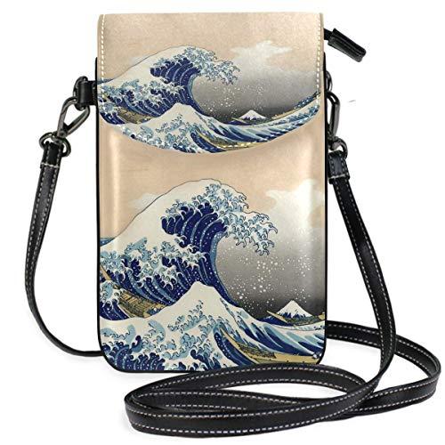 XCNGG Sea Blue Whale Handy Geldbörse Umhängetasche Tasche Umhängetaschen Brieftasche für Frauen Mädchen Reisen