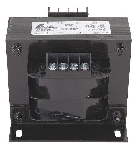Acme Electric TB81215 Transformer, Industrial Control 208/240/277/380/480V Pri 24V Sec - 0.5kVA 50/60Hz, 1-Phase Copper