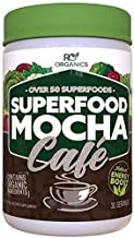 Super Greens Powder | Mocha Chocolate | Whole Foods Supplement | Real Superfoods, Fruit & Vegetables Including Organic Spi...