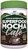 Super Greens Powder | Mocha Chocolate | Whole Foods Supplement | Real Superfoods, Fruit & Vegetables...