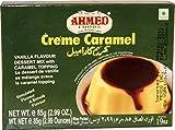 Mezcla de postre de caramelo y crema vegetariana sin huevo de 85 g con sabor a vainilla y caramelo
