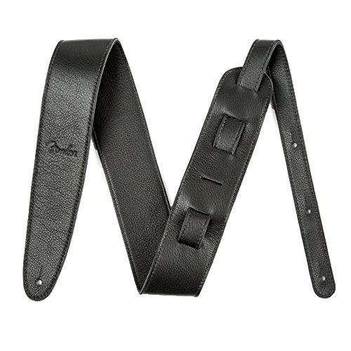 Fender Artisan Crafted Leather Strap, 2.5' Black