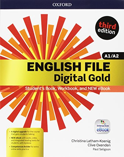 English file gold.A1-A2.Premium.Student's Book wb with ebk with oosp [Lingua inglese]