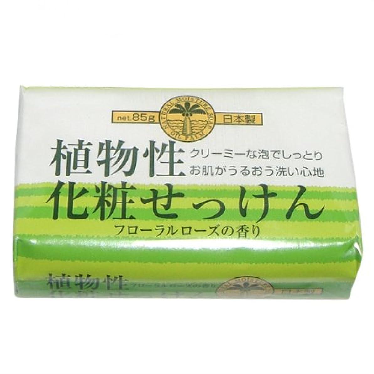 クロニクル隙間工業化する植物性化粧石けん 85g 1個