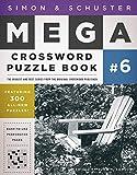 Simon & Schuster Mega Crossword Puzzle Book #6 (6) (S&S Mega Crossword Puzzles)