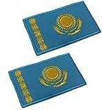 2pcs Kazakhstan Flag...image