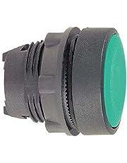 Schneider Electric/Telemecanique zb5aa3pulsador cabeza, primavera Volver, verde