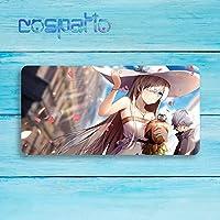 COSPATIO 大判マウスパッド Fate/Grand Order フェイト グランド オーダー FGO Анастасия アナスタシア シリアス 周辺機器 マウス マウスパッドキーボードパッド漫画 のキャラクター (800 * 400 * 3mm)