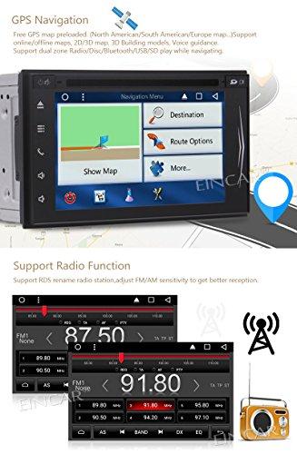 Kostenlose Backup-Kamera mit Android 7.1 Auto-DVD-Spieler GPS-Tracker 7-Zoll-Touch-Screen-Auto-Styling Autoradio Abbildung 3