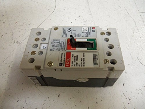 EGE3070FFG - Thermal Magnetic Circuit Breaker, EG-Frame, EG Series, 415 VAC, 70 A, 3 Pole, DIN Rail, Panel