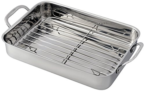 Cuisinart 7117-14RR Lasagna Pan with Stainless Roasting Rack