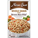 Near East Whole Grain Blends, Brown Rice Pilaf, 6.17oz (Pack of 12 )