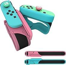 2PCS Dance Band Braccialetti per Just Dance 2021 2020 2019 per Nintendo Switch Controller Game, Comodo Cinturino Elastico ...